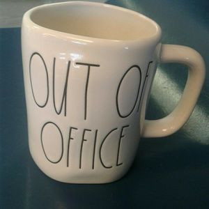 Rae Dunn mug ' OUT OF OFFICE '